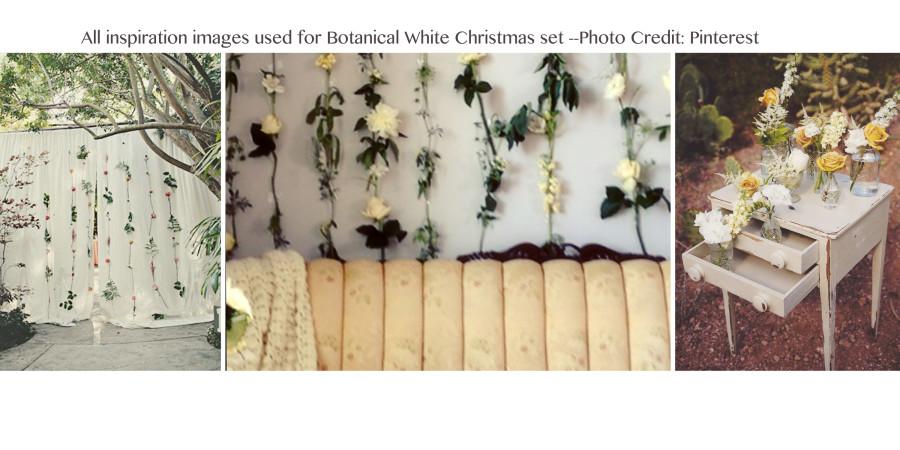 Botanical White Christmas